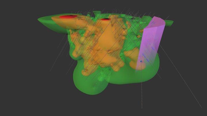 MDNA 3D Model