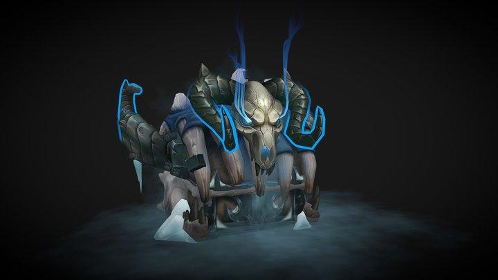Treasure Chest of Sindragosa 3D Model