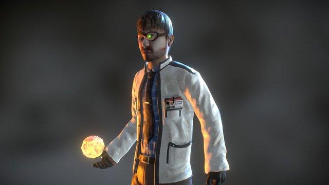 Dr Dylan 3D Model