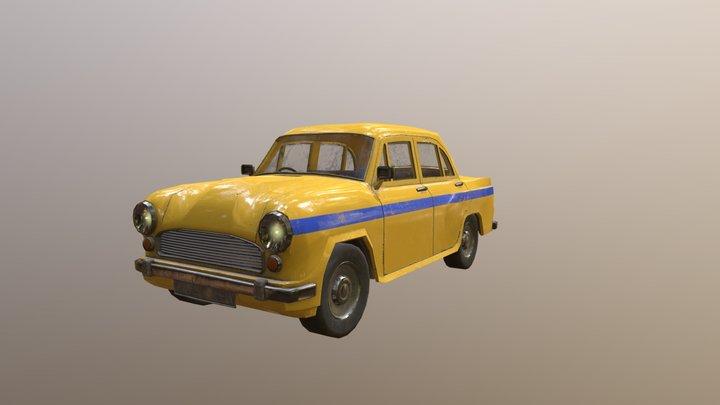 ambassador car 3D Model