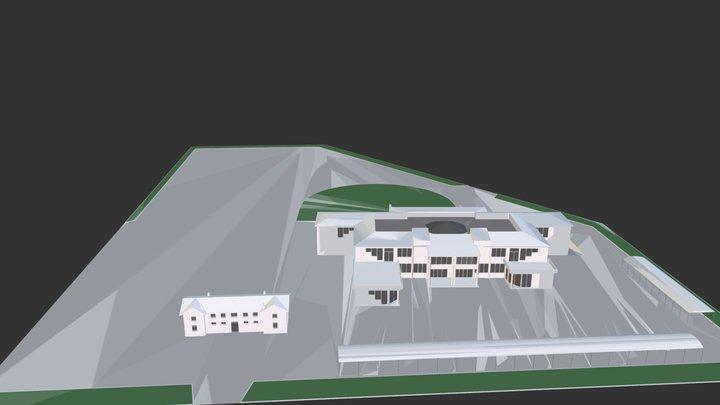 Ekthesiako Kentro Ditikis Makedonias 3D Model