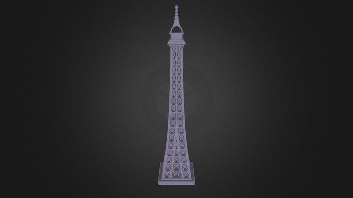 Eiffel Tower (2) 3D Model