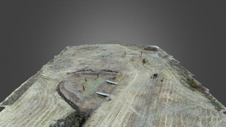 Капище в археологическом парке «Аргамач» 3D Model
