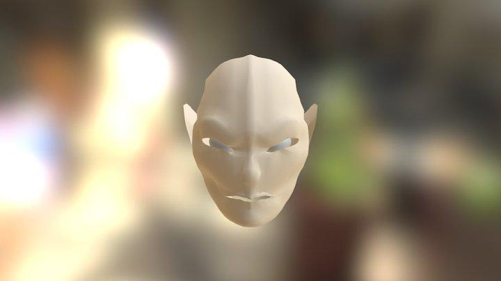 Gollum Cara 3D Model