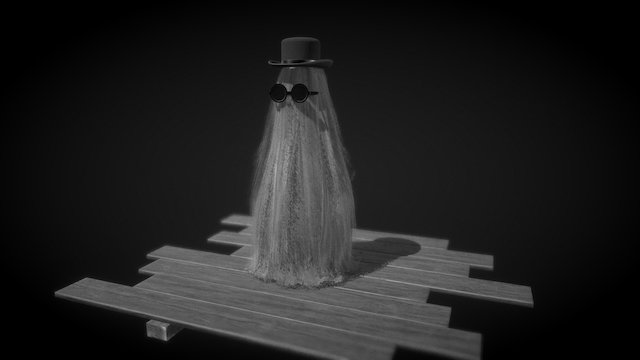 Cousin Itt 3D Model