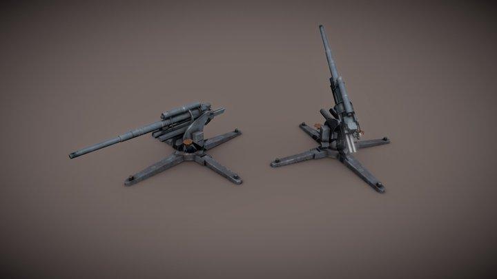FlaK 18 3D Model
