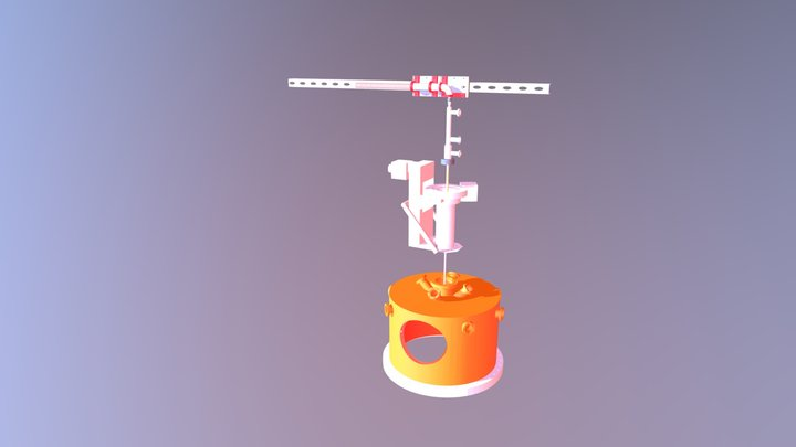 brace and clamps 3D Model