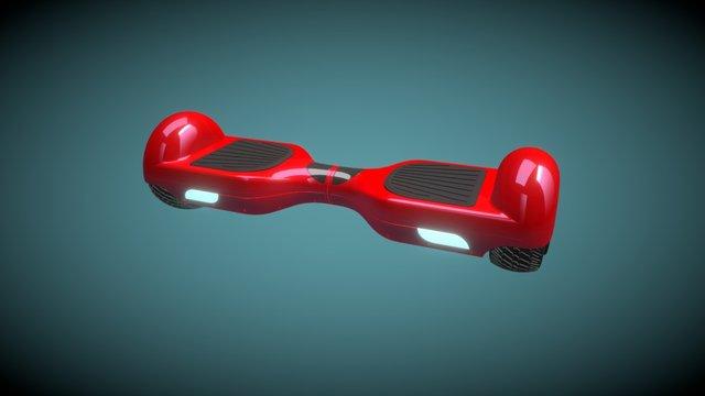 Patineta electrica 3D Model