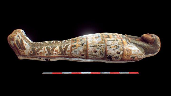 Coffin of Pa-di-mut 3D Model