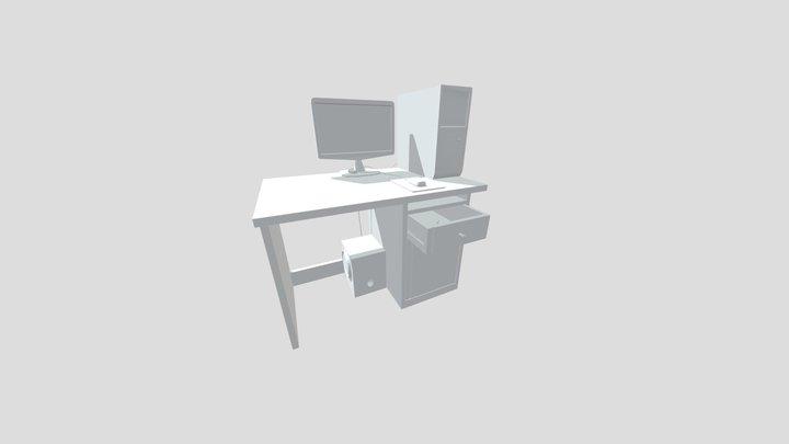 Draft Punk FastDraft HomeWork 3D Model