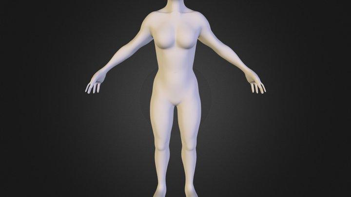 Base_Female 3D Model