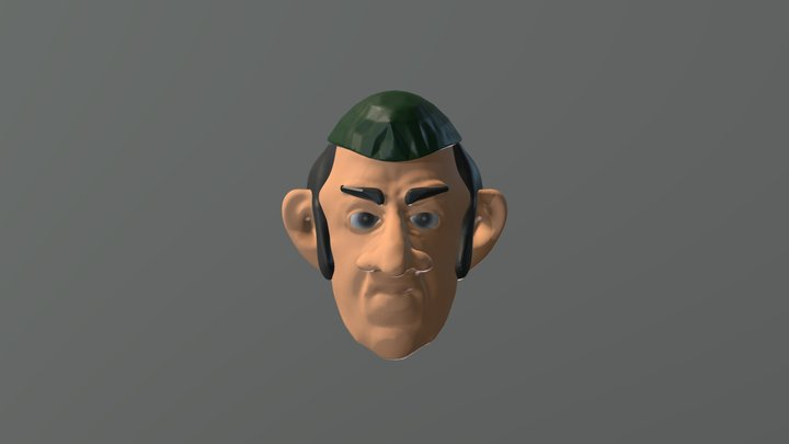 Huko 3D Model