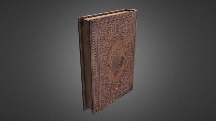 Vintage Book A301 3D Model