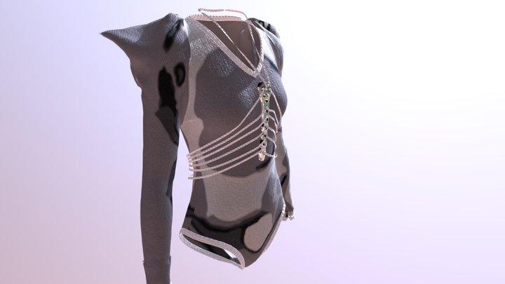 BRIA: Eth Mode Leotard 3D Model