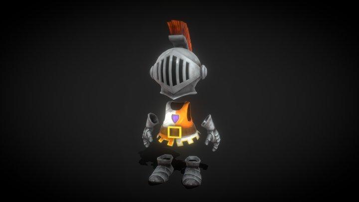 Ghost Knight 3D Model