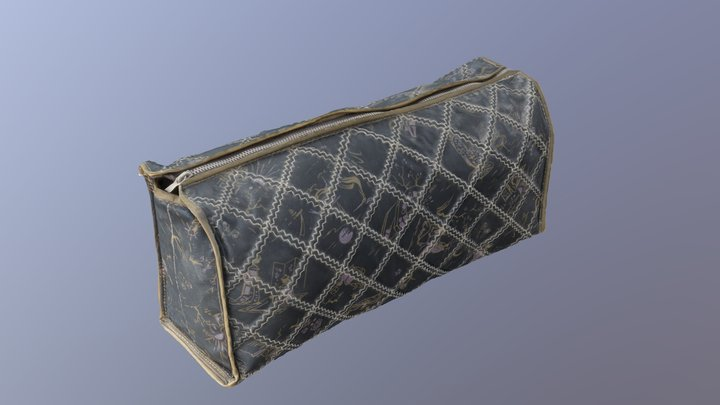 Cosmetics Bag (3D-Scan) 3D Model