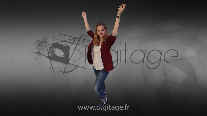 Amélie 3D Model