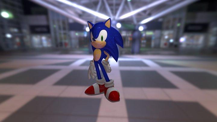 Sonic3d 3D Model