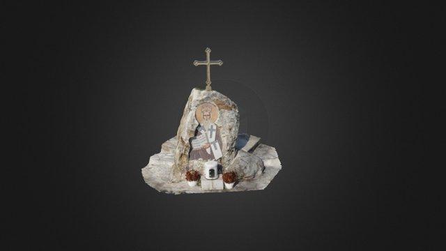 Mozaik posvecen sv. Vasiliju Ostroskom - Mosai 3D Model