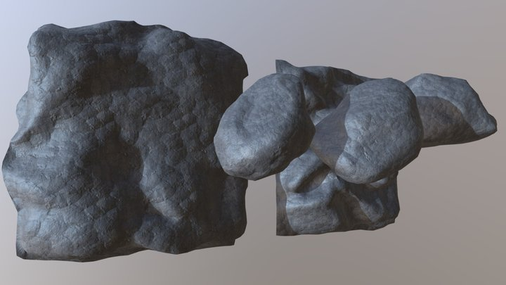 RockSet [Between Two Worlds] 3D Model