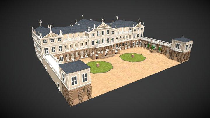 Schloss Salzdahlum 3D Model