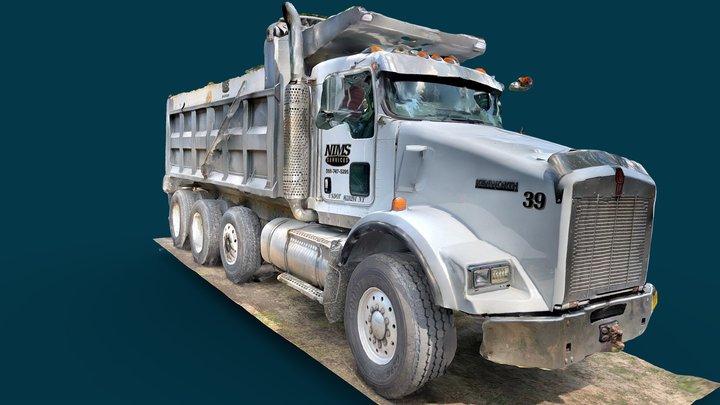 Day 92: Dump Truck 3D Model