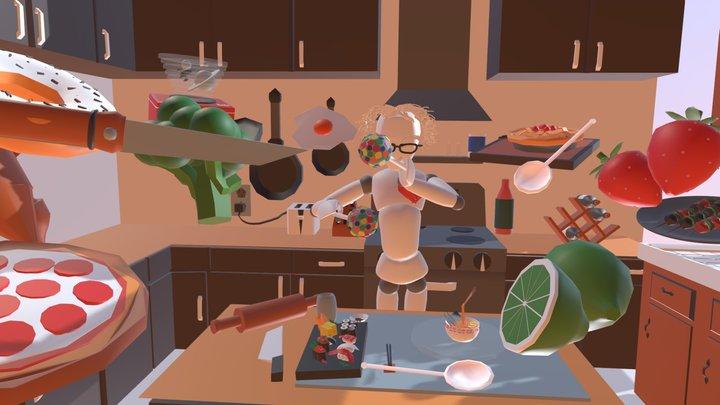 UCL 360 #Tvori360Time - PING, YUJIAO & SIYU 3D Model