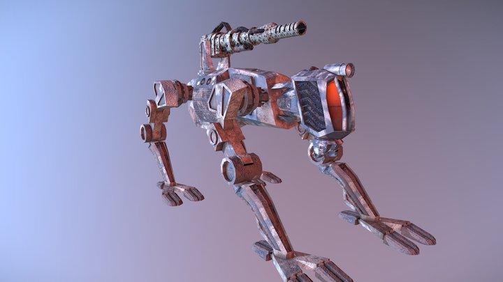 MK 3 Spartan Mech-Walker 3D Model