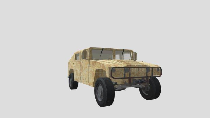 Humvee Model Test 1 3D Model