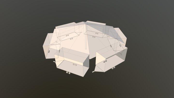 Huifkarcirkel 3D Model