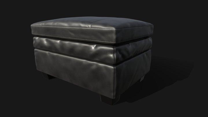 Gleason Chair Ottoman 3D Model