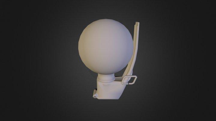Grenade Mesh 3D Model