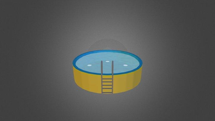 Lowpoly Wasser 3D Model