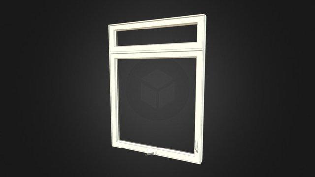 Fenêtre à Manivelle PVC 3D Model
