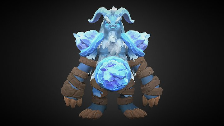 Art Test - Sloth 3D Model