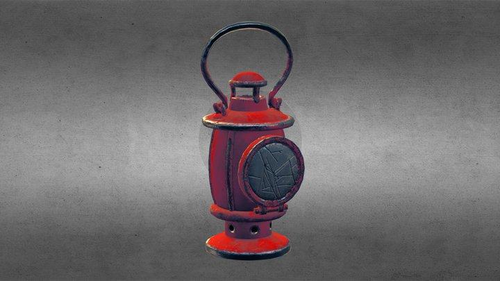 Woodsman's Lantern 3D Model