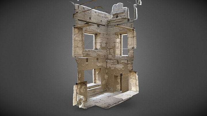 MHE Central Tower Interior 3D Model