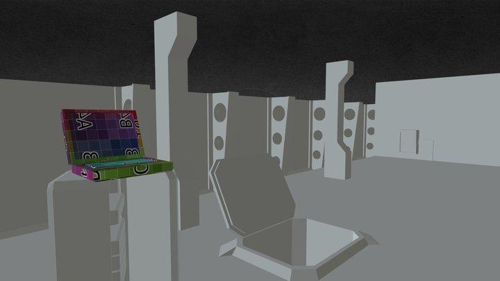 Test Level 3D Model