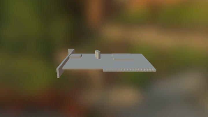 Сетевая плата 3D Model