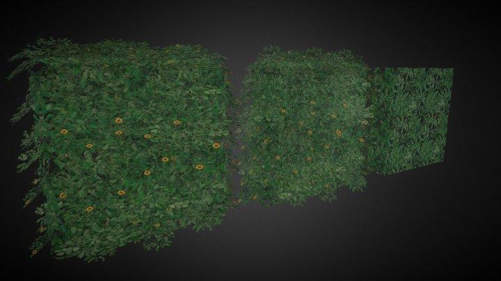 Arbusto Decorativo 3D Model
