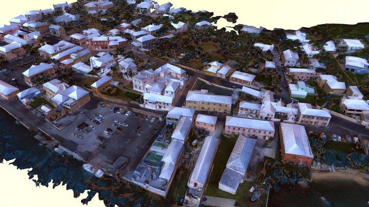STG Aerial Water Street East 3D Model