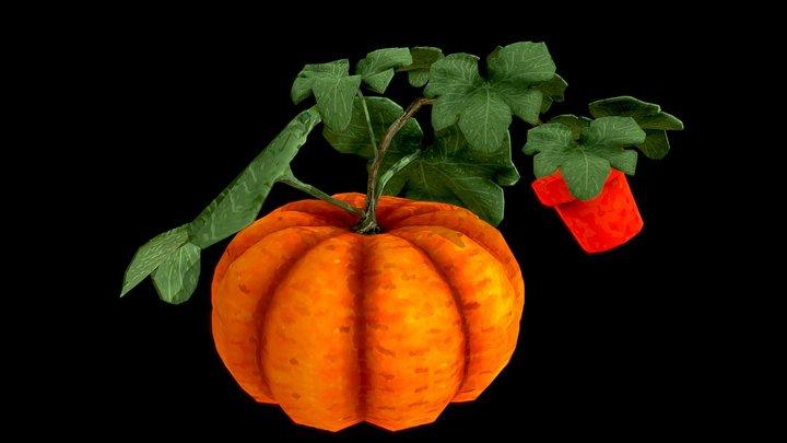14: Overgrown Pumpkin 3D Model
