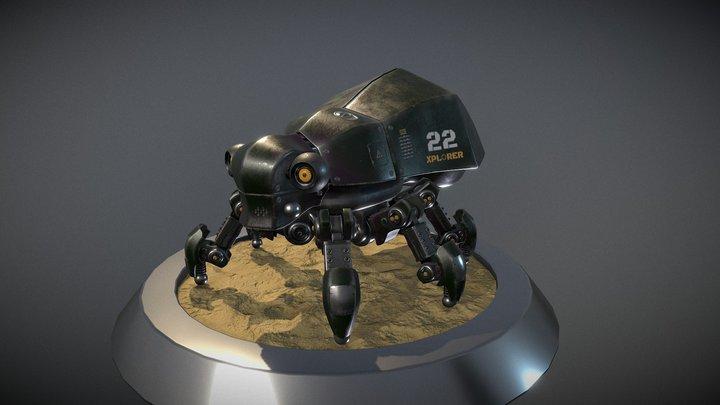Scarab Drone 3D Model