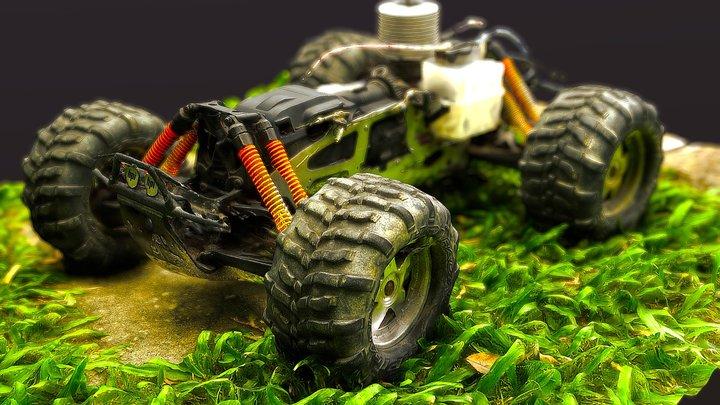 RC Monster Truck 3D Model