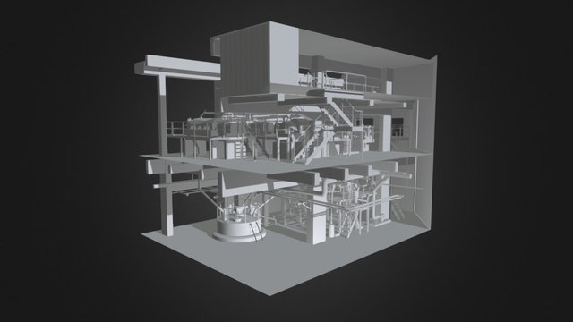 Piping systems 3D Model