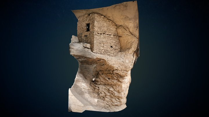 Gila Cliff Dwellings National Monument Section 1 3D Model