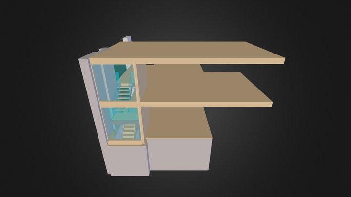 STAIR MODEL - P&Co 3D Model