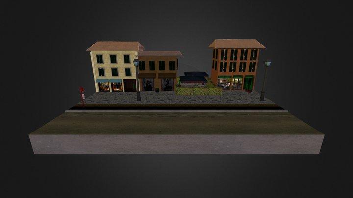 CityScene Ferrara inspired 3D Model