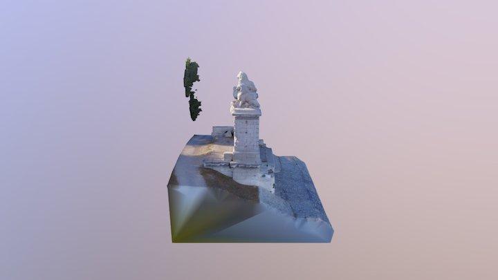Pont aux lions 3D Model
