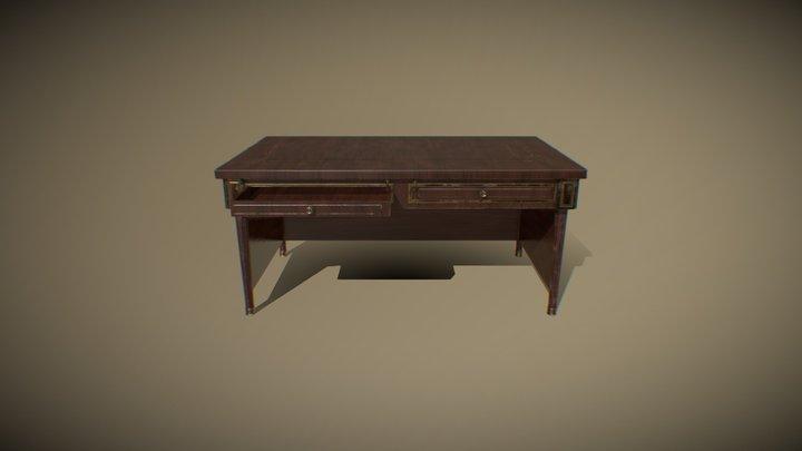 Desk010 3D Model